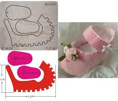 Baby Shoes Pattern Classy Baby Shoes Die Cut Baby Shoes Pattern Baby Shoes In Cutting Dies