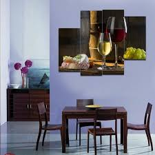 4pcs hd canvas print painting wine wall art decor picture modern dining room decor painting home decoration wall stickers 073469 in painting calligraphy  on wine and dine canvas wall art with 4pcs hd canvas print painting wine wall art decor picture modern