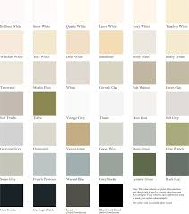 Dove Grey Colour Chart Hampton Paints Colour Range