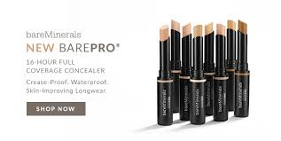 bareminerals new barepro 16 hour full coverage concealer crease proof waterproof