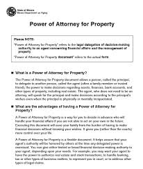 blank power of attorney illinois poa form omfar mcpgroup co