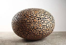 Wooden Log Ball