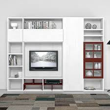 shelving furniture living room. Italian TV Stand Unit With Library Rubino By Mobilstella Shelving Furniture Living Room I