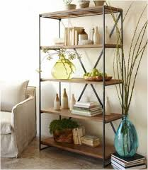 Reclaimed Wood Railroad Tie Bookshelf - can hack it with Ikea Vittsjo  Shelving Unit. Replace glass shelving with wood.