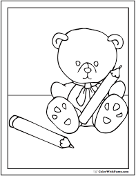Small Picture teddy bear coloring pages for toddlers on teddy bear coloring