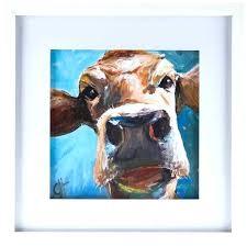 hobby lobby canvas art cow canvas art print cow wall art cow face framed wall decor
