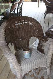 Wicker · Painting Wicker Furniture