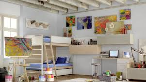 themed teen rooms for artist r