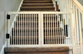 wood pet gate gates for stairs expansion gmi keepsafe