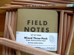 field notes review part ii the notebook pencil revolution earlier