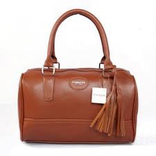 Coach Legacy Haley Medium Brown Satchels ADG