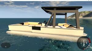 drive mods working pontoon boat you
