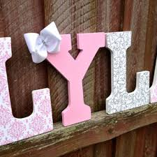 baby name wall letters girls bedroom
