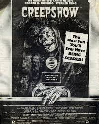with a new stephen king book on the stands this week here s a look at the ad for 1982 s creepshow yet another skull faced horror poster
