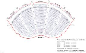 Stage 42 Seating Chart Power Center U M School Of Music Theatre Dance