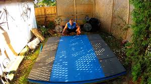 homemade backyard olympic weightlifting platform gopro canada you