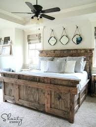 Country Style Bed Frames Wooden Headboard Plans Bedroom Country ...
