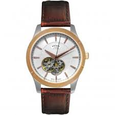 rotary watches official uk dealer francis gaye jewellers men s two tone les originales swiss automatic watch