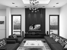 Add Color To Black And White Living Room Lavita Home - Black furniture living room