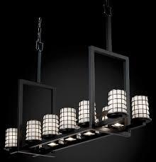 dakota wire 12 light tall rec chandelier w downlights