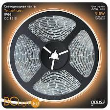 Купить <b>светодиодную ленту Gauss LED</b>-<b>лента 312000110</b> с ...