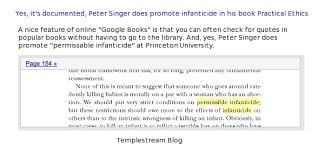 Peter Singer's Infanticide at Princeton University