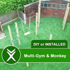 outdoor gym ideas shed and monkey bar training of pull up outdoor home gym