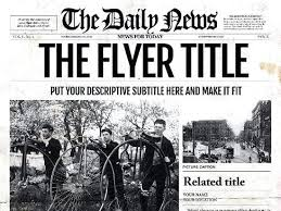 Editable Old Newspaper Template Old Newspaper Template Publisher Editable Olden Times