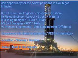 Pdms Piping Designer Oil And Gas Jobs Process Engineering Civil Structural