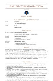 Resume In Import And Export Tips For Import Export Coordinator Resumes