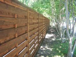 horizontal wood slat fence. Beautiful Horizontal Turn Things 90 Degrees Where Most Fences  Throughout Horizontal Wood Slat Fence