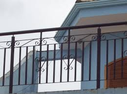 The examples shown indicate styles commonly used. Foto Guarda Corpo De Arte E Design Em Ferro E Aco 1030573 Habitissimo