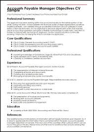 15 Accounting Cv Example Soulhour Online