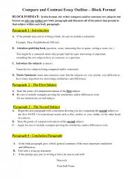 comparison thesis statement examples usa college urvoyprefafr  cover letter essay and outline example sample essay macbeth compare contrastcomparing and contrasting essay examples