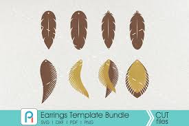It is free to download and use any commercial projects no attribution required. All Crafts 30816 Svg Cut Files Creative Fabrica Free Svg Earring Templates