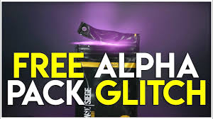 Image result for siege free alpha packs