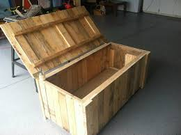 diy wood deck box. storage deck box from pallet wood diy m