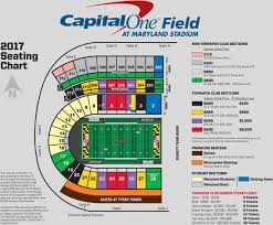 Xfinity Center Seating Chart Maryland Pin By Bill Principio On Umd Seating Football Ticket
