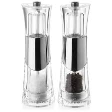 cole  mason  bobbi salt  pepper mill set  peter's of kensington