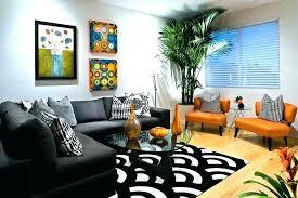 black and white geometric area rug rugs ikea bla