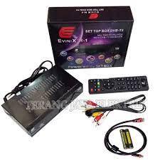 STB / SET TOP BOX TV DIGITAL EVINIX H-1 DVB-T2 Terbaru Dari SKYBOX + Kabel  HDMI