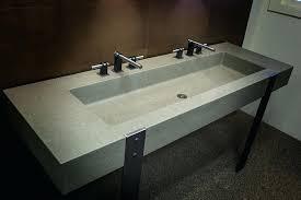 cement bathroom sink concrete trough sinks concrete trough bathroom sink cement bathroom sink