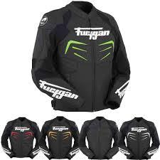 furygan power motorcycle leather jacket