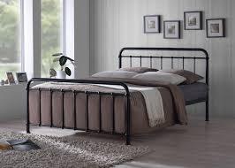 black metal bed frame full. Brilliant Full Time Living Miami 4ft6 Double Black Metal Bed Frame With Full R