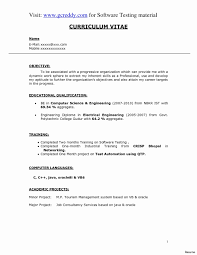 Sample Resume Format For Electrical Engineer Best Resume Templates