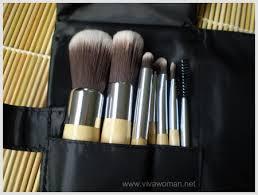 review momo makeup brush set