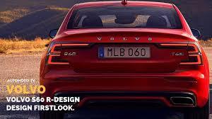 2020 Volvo V60 T6 R Design 2020 Volvo S60 R Design Firstlook