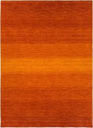 chaz tangerineburnt orange area rug  froy