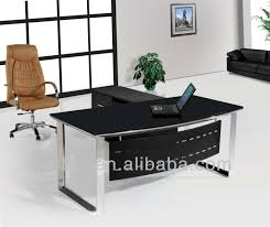 tempered glass desk cover glass top office desk office desk glass top mr