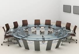 radian large round conference table